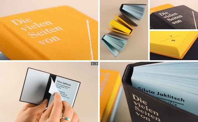 Publikationsmanagerin Silvia Jaklitsch – Corporate Design