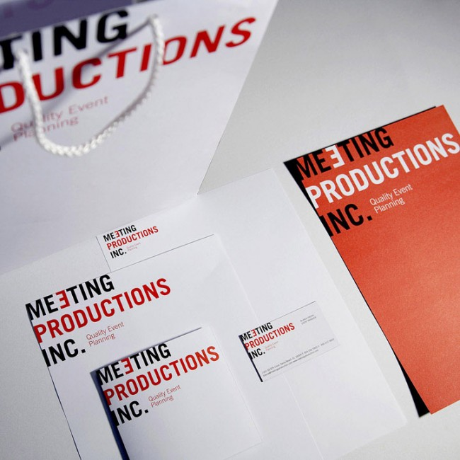 Meeting Productions Identity