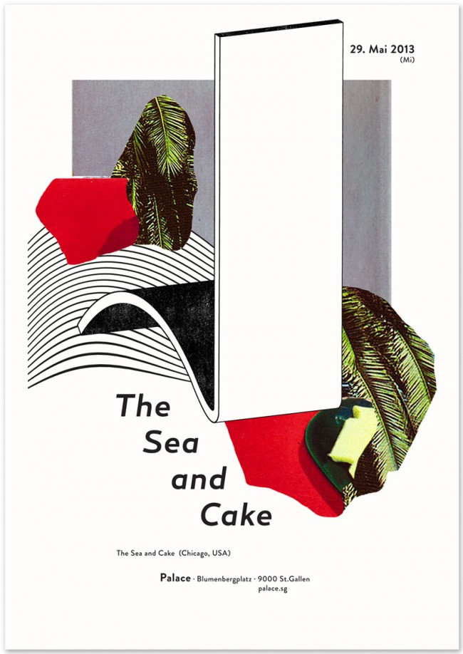 »The Sea And Cake« at Palace St. Gallen, May 2013