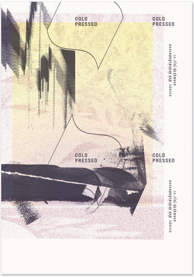 »Cold Pressed« a fair for publications and records, December 2013