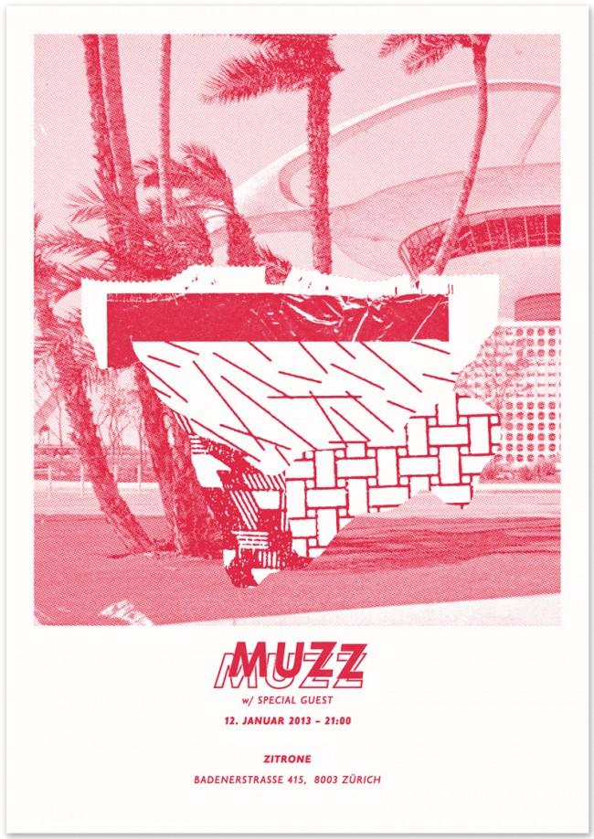 »Muzz« at Zitrone Zurich, January 2013