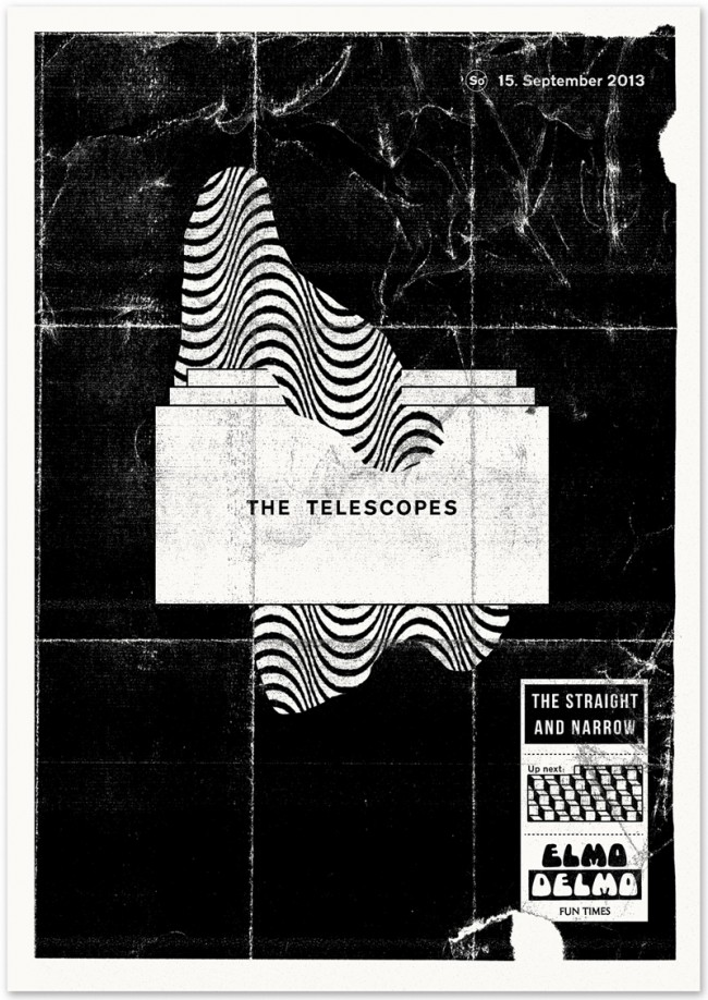 »The Telescopes« at Elmo Delmo Zurich, September 2013