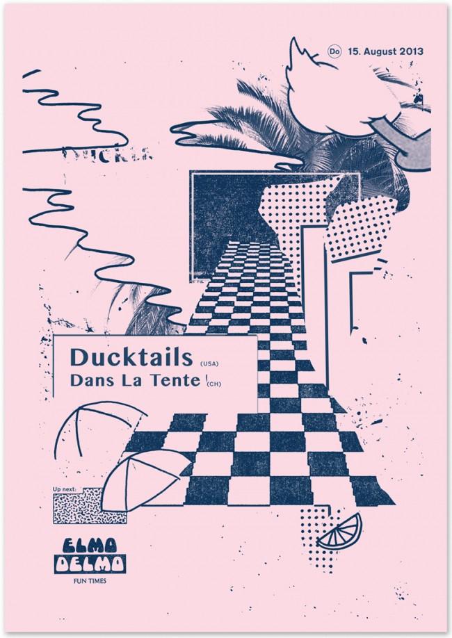 »Ducktails« at Elmo Delmo Zurich, August 2013