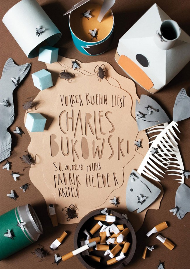 Andrea Weber: Lesung Charles Bukowski