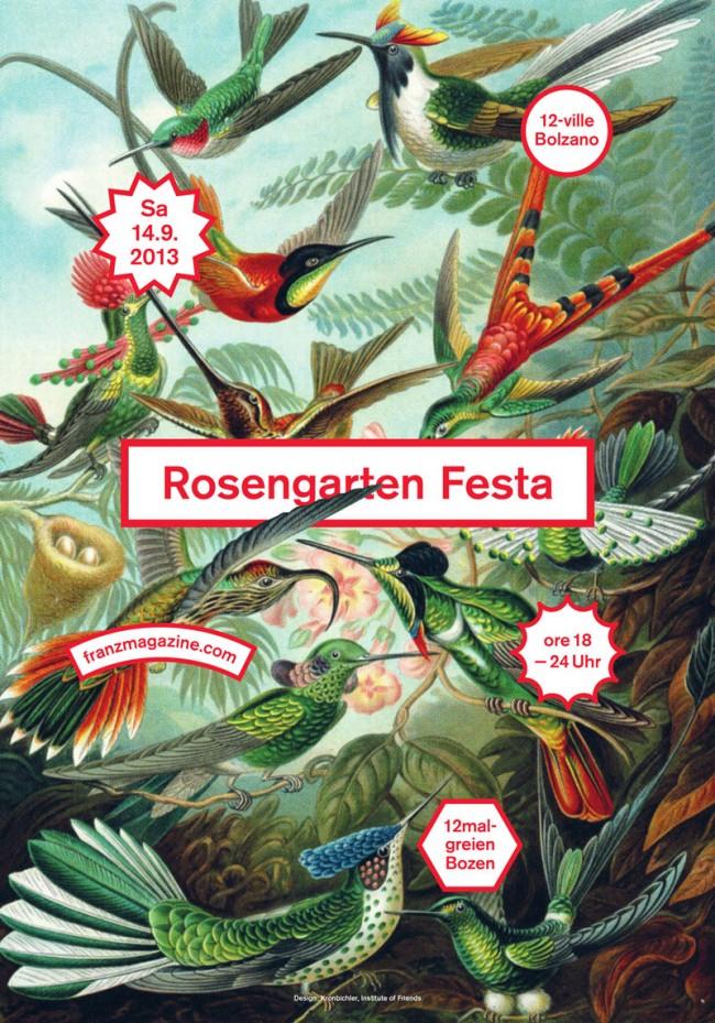 Thomas Kronbichler: Rosengarten Festa