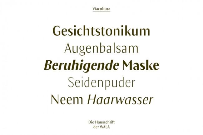 Neue Hausschrift von Dr. Hauschka –Viacultura