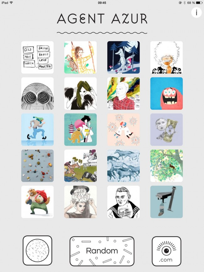 BI_140411_AgentAzur_app_00Startscreen