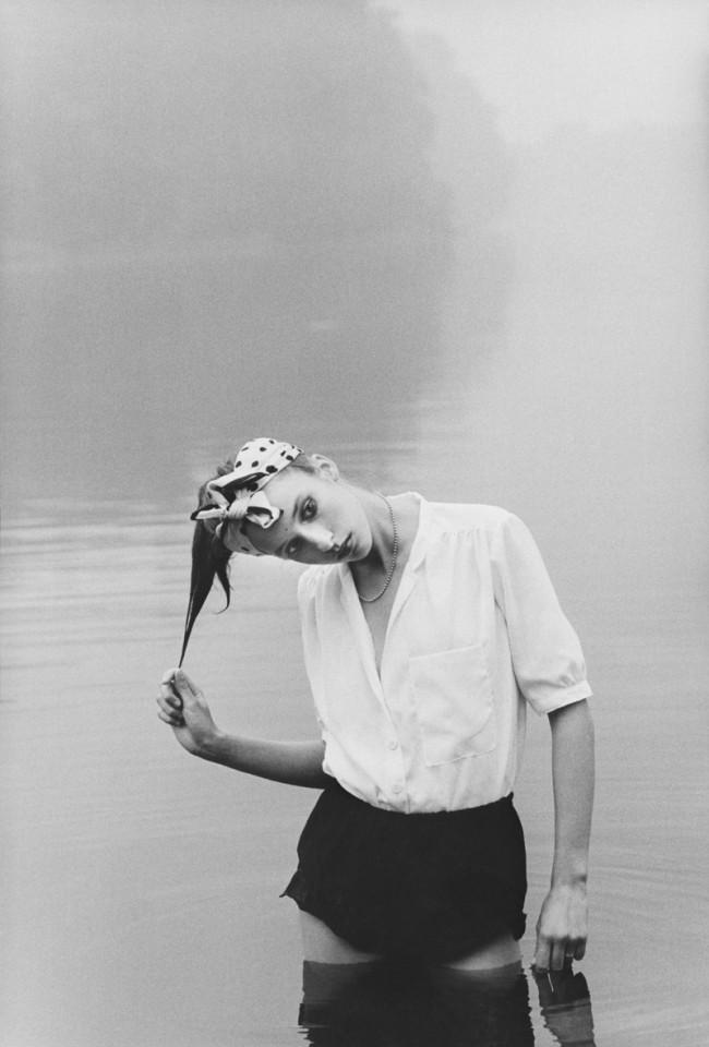 Ute Mahler: Modefoto für »Sibylle«, Julia Koberstein, Model, Berlin, DDR, 1979