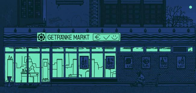 Getränke Markt – Bild aus der Serie »Zeitgenössischer Realismus«