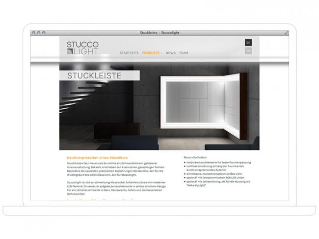 Stuccolight, Corporate Design