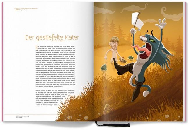 Grimm Märchenbuch – Der gestiefelte Kater