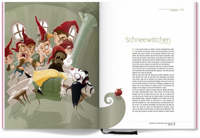 Grimm Märchenbuch – Schneewittchen