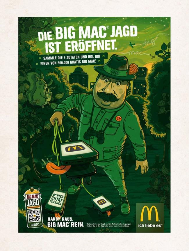 McDonald's – Big Mac Jagd