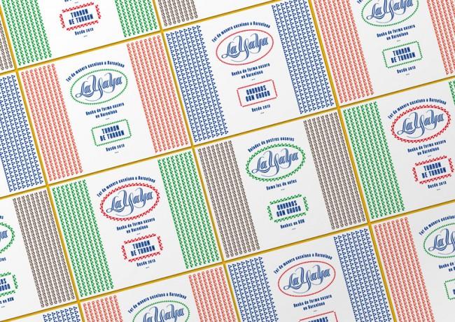 Labels für Eisbecher