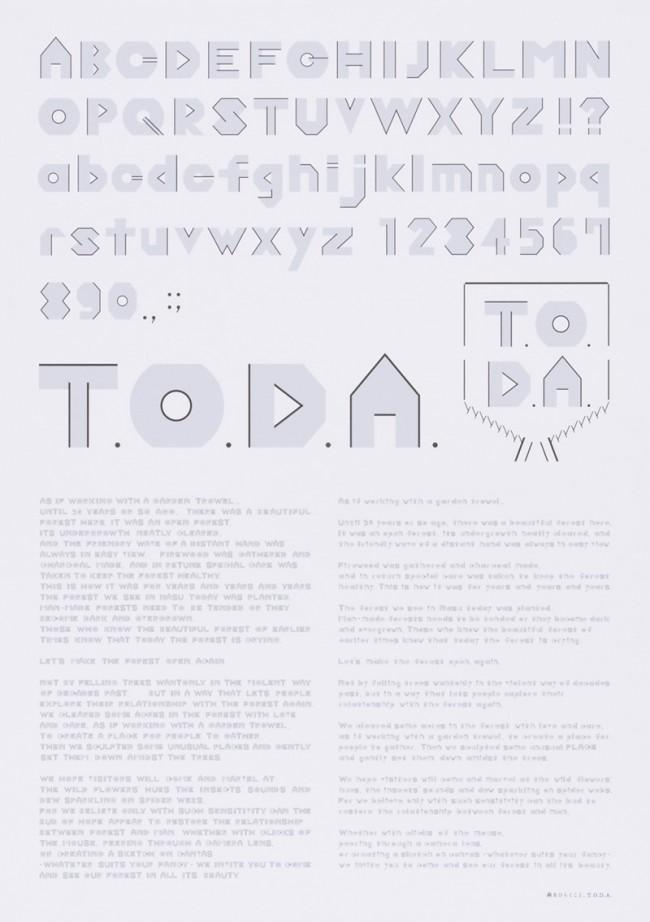 Grafikdesign für T.O.D.A.'s  T.O.D.A., Ryosuke Uehara, Yoshie Watanabe, Mitgliederpreis