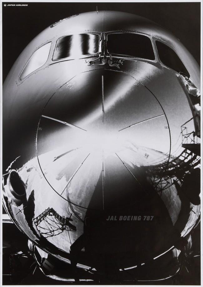 Poster Jal Boeing 787 für die Fluggesellschaft Japan Airlines, Atsushi Mashimoart, Q Asabaart, Tomoe Hayakawa