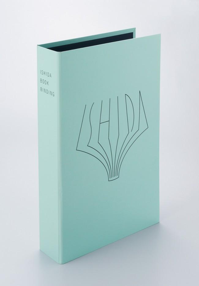 Grafikdesign für Ishida Bookbinding, Yoshinori Okada