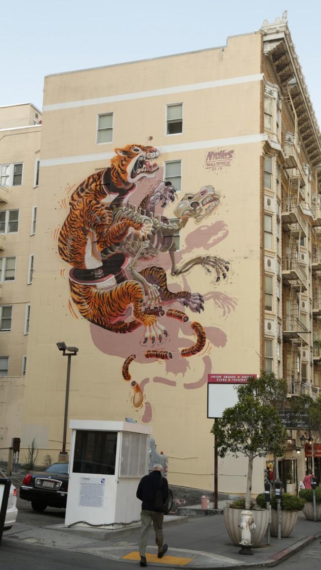 Nychos – Eye of the Tiger, San Francisco, Photo: Chriatian Fischer