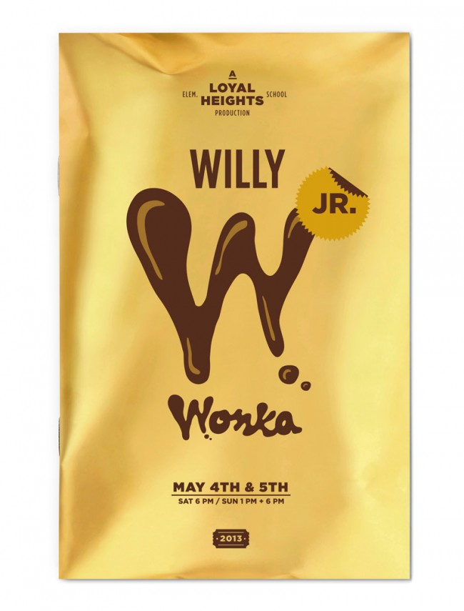 Willy Wonka Jr. Playbill