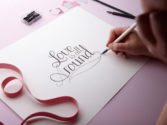 Beate Uhse   Typografie Entstehung