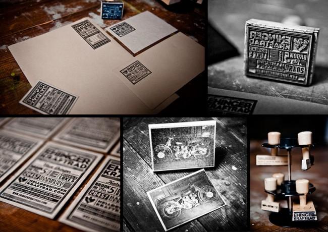 Ehinger Kraftrad   Brand Identity Stationery