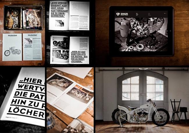 Ehinger Kraftrad   Brand Identity Magazin Web Bike