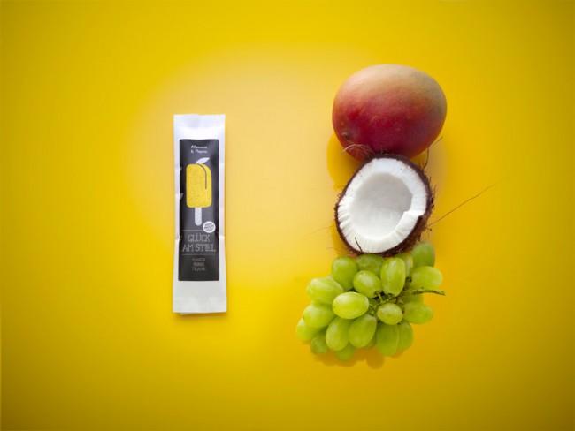 Glück am Stiel   Mango Cocos Grape