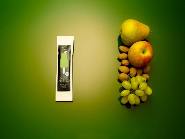 Glück am Stiel   Apple Almond Grape