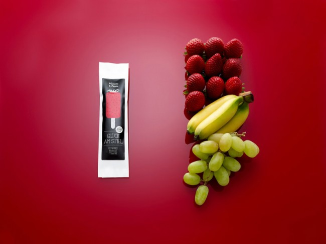 Glück am Stiel   Strawberry Banana Grape
