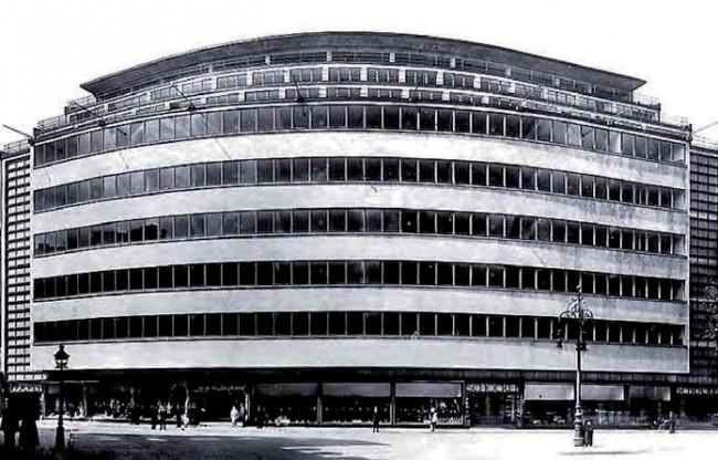 Kaufhaus Schocken, Erich-Mendelsohn Archiv, Kunstbibliothek Berlin, Staatliche Museen Preußischer Kulturbesitz