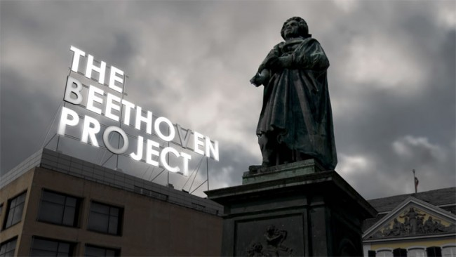 Das Beethovenprojekt   Musikdokumentation: Titelanimation