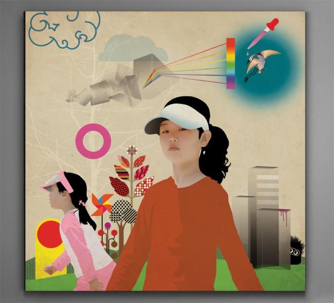 DesignerReisen    Eiga Diary: Illustration, Kunstdruck