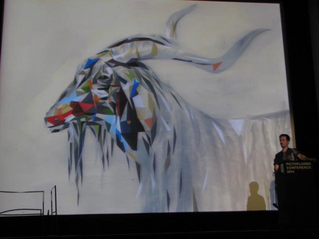 Monster von Kristof Luyckx, das den Wu Tang Clan covert