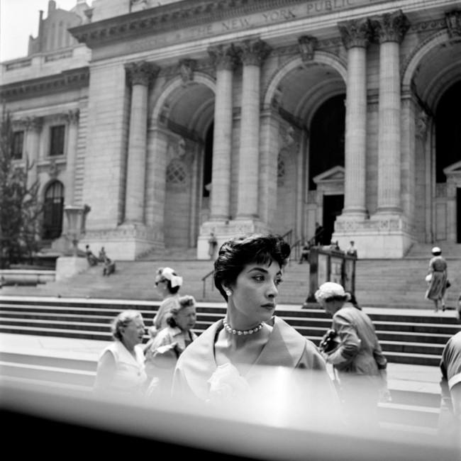 Woman Hat NY Public Library