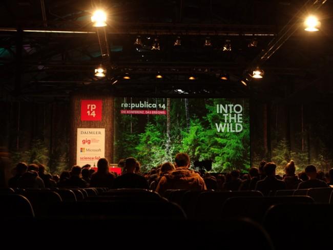 Art Direction für re:publica 2014 »Into the Wild«