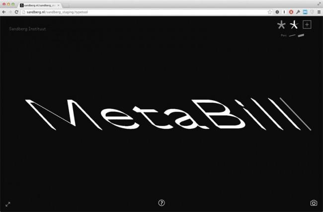 Sandberg MetaBill   Die Idee eines Erscheinungsbildes mit individuellen Variationen der Schrift für jeden Studenten und Mitarbeiter ist von LUST zusammen mit Atelier Carvalho Bernau entwickelt worden