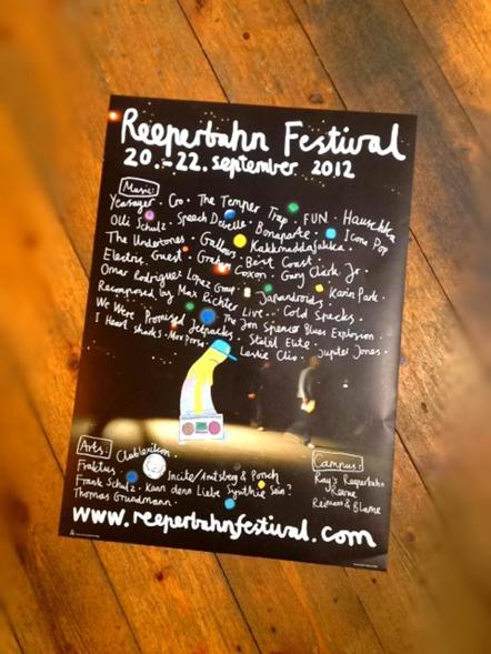 Bild Reeperbahn Festival Plakat