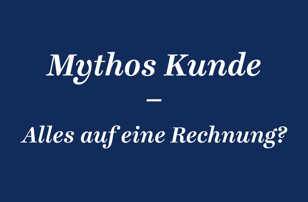 Mythos Kunde Alles Auf Eine Rechnung Agd Page Online