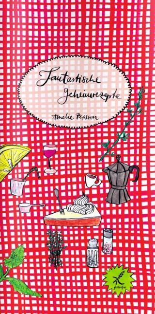»Fantastische Geheimrezepte«, 10 x 20 cm, 20 Seiten in Farbe. ISBN 978-3-943417-37-1.  Jaja-Verlag, Berlin