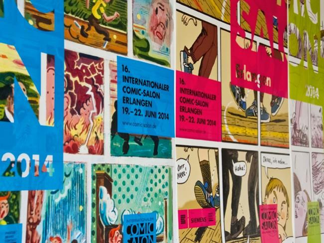 Comic-Salon Erlangen Plakate 2014