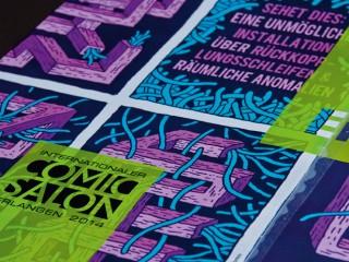 Comic-Salon Erlangen Ausschnitt Plakat 2014