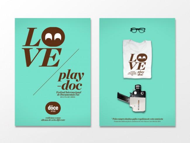 Poster für das Play-doc-Festival