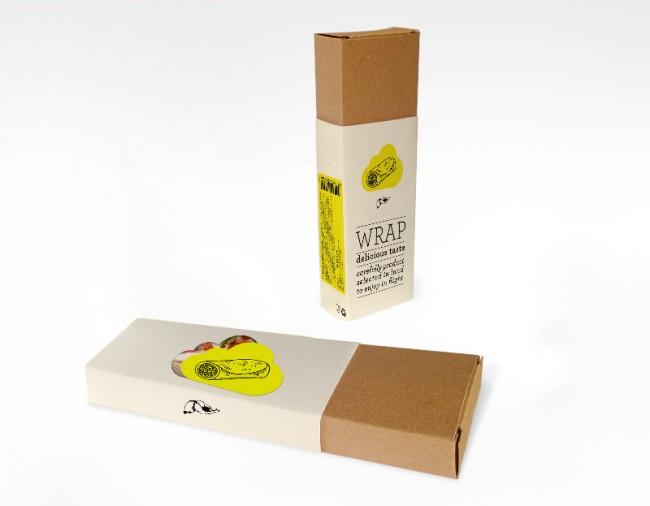 Packaging Design für Newrest