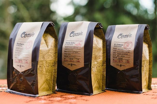 Verpackungsdesign für Coava Coffee Roasters
