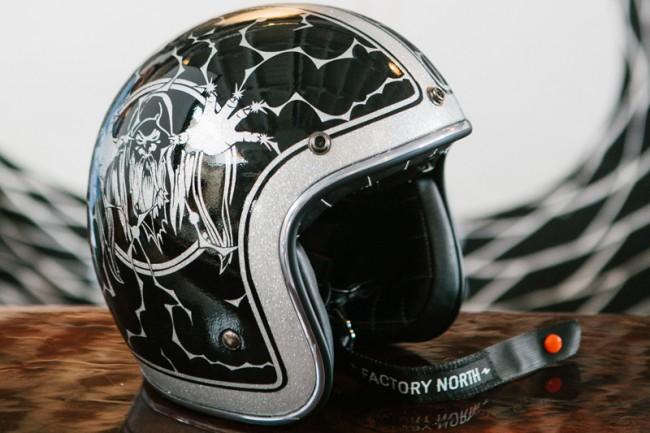 Helm-Design für die 21 Helmets Art Show