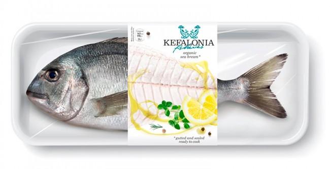 Kefalonia fisheries, organic sea bream