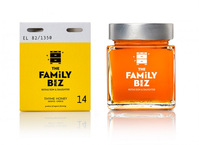 The family beez, honey of limited production