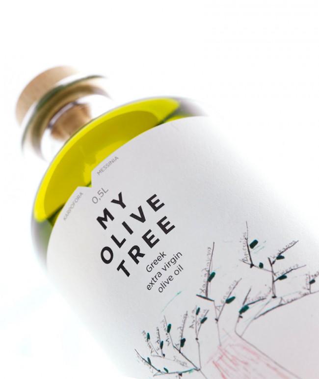 My olive tree bottle
