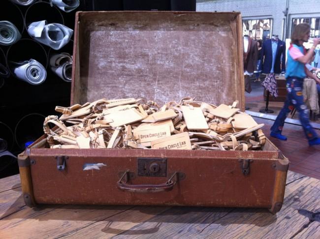 Kofferanhänger als Visitenkarte von Eccoleather