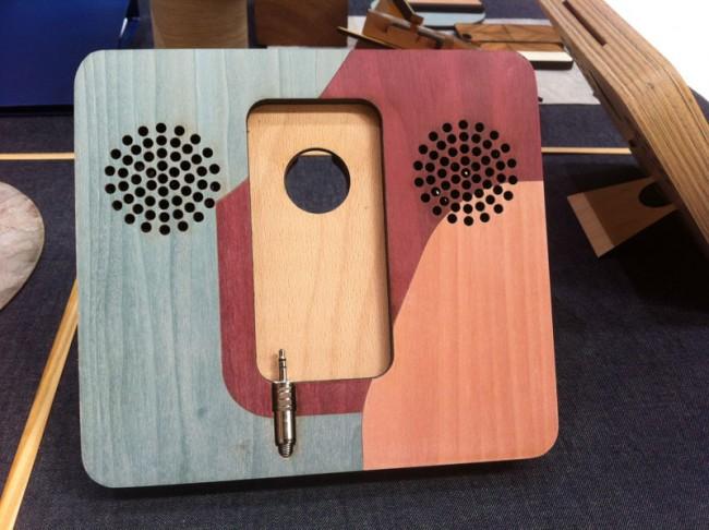 Handy-Handwerkskunst von Wood'd, eine der Entdeckungen